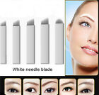 10/20/50pcs U Shape Permanent Makeup Eyebrow Tattoo Blades Microblading Needles