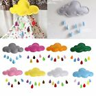 Baby Kids Nursery Home Colorful Cloud Raindrop Wall Mural Stickers Decal Decor
