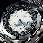 Recommend Elegant Men Automatic Mechanical Stainless Steel Luxury Watch Calendar