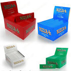 100 / Booklets 4/Colours RIZLA+ KING SIZE Slim Tobacco Rolling Papers UK-Stock