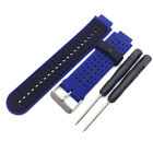 Soft Silicone Replacement Watch Band Strap For Garmin Forerunner 235 630 230 Won