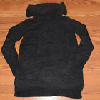 NWT Womens DKNY Charcoal Gray Cowl Neck LS Long Sleeve Sweater S M L XL XXL