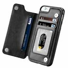 For iPhone 6 7 Plus Wallet Card Slot Case Leather Shockproof Magnetic Flip Cover <br/> USA Fast Free Shipping! 100% Satisfaction Guarantee!