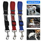Adjustable Pet Seat Belt Dog Harness Pet Car Seat Belt Pet Safety Leash Leads US