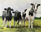 Cow Art PRINT Wall Art from original oil painting by James Coates