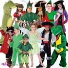 BOYS GIRLS PIRATE CAPTAIN FAIRY CROCODILE BOOK DAY CHARACTER FANCY DRESS COSTUME