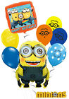 Minions Kid's Birthday Balloon Bouquet Party Decorations