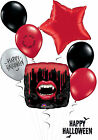 REDUCED TO CLEAR Halloween Fangtastic Balloon Bouquet Party Vampire Teeth
