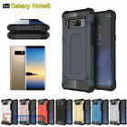 For Samsung Galaxy Note 8 Hybrid Shockproof Clear Ultra Thin TPU+PC Case Cover