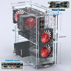 Latest DIY Acrylic Computer PC Case ATX Tower Water Cooling Computer Gaming Case