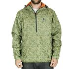 Grizzly Mens Splash Camo Grizzland Windbreaker