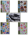 KIDS GIRLS BOYS FLOWER FAIRY FAIRIES PIRATE RALLY CAR SPACE ROCKET WALL STICKERS