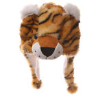 Wild Woolies Plush,Tiger, Penguin, Elephant Hat - Furry Hat