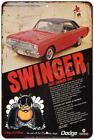1969 Dodge Dart Swinger 340Vintage Look Reproduction 8x12 Metal Sign 8120841 $ USD