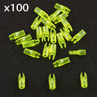 100Pcs 3.2mm Archery Hunting Plastic Arrow Shaft Tail Replace L Nock