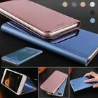 Clear View Mirror Leather Smart Flip Stand Case Cover For Apple iPhone 6s 7 Plus
