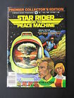 Star Rider and the Peace Machine #1 1982 B&W Magazine Size - Richard Comely Art