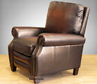 NEW Barcalounger Briarwood II Genuine Stetson Bordeaux Leather Recliner Chair