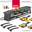 Spring - Raclette 4 Compact - Schwarz