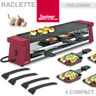 % Sale % Spring - Raclette 4 Compact - Rot