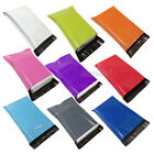 Coloured Mailing Bags Plastic Mail Post Postage Poly Strong Seal All Sizes CHEAP