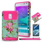 For Samsung Galaxy Note Edge Heavy Duty Hybrid Armor Silicone Rugged Case Cover
