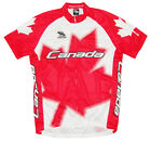SALE $19.95 Canada Cycling Jersey by Suarez Men's short sleeve bicycle bike