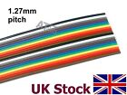 RIBBON CABLE, Flat, 1.27mm pitch spacing  10 way / 20 way  - UK Stock