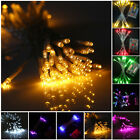 10-80 LED 1M-10M Battery Operated String Lights Fairy Wedding Home Decor DIY