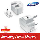 Samsung Galaxy S4 S5 S6 S7 Note Main Charger Plug +Data Sync Cable Uk Stock
