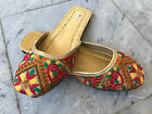 Womens Khussa Mojari Indian Traditional Juti Pakistan Sandal Fancy Khusa Jutti