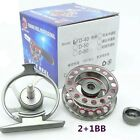 New Fly Fishing Reel One-way Bearing With CNC-machined Aluminum Alloy Body