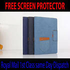 For Apple iPad mini 1/2/3/4 Jeans Smart Case Stand Magnetic Wake Up Cover mini