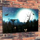 LED Art Print on Canvas Halloween Pictures Background Wall Decorations Creative