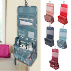 Toiletry Makeup Bag Wash Travel Carry Large Folding Hanging Zipper Organizer