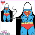 Superman DC Comics Superhero Novelty Funny Apron Unisex Adult Cooking BBQ Chef