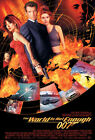 Art Poster Deco-THE WORLD IS NOT ENOUGH James Bond Movie Silk Fabric Print 5388 $12.3 CAD