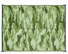 Camouflage Reversible Outdoor Mat Mold Mildew Lightweight Easy Perfect Putting