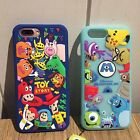 3D Cartoon Monster Gel Soft Silicone Rubber Case Cover Skin For Samsung S8/7 P10