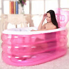 4 Sizes Adult & Child Spa PVC Folding Portable Bathtub Warm Inflatable Bath Tub
