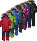 Didriksons Bjornen Kids Coverall Snowsuit Waterproof Insulated All in One