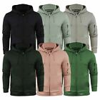 Mens Hoodie Brave Soul Eddie Zip Up Hooded Sweater