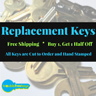 Replacement Steelcase File Cabinet Key, FR301-FR550 - 2nd Key Half Price