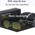 Polarized Sunglasses Men HD Vision Aviator For Driving Luxury Banned 1976 Brand