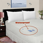 Terry Waterproof Mattress Protector Cover Towelling Single Double,King UK Size