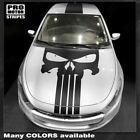 Dodge Dart 2013-2018 Punisher Style Skull Hood&Top Stripes Decals (Choose Color) $94.5 USD on eBay
