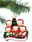 Personalized Christmas Tree Ornament Holiday Gift Gift Box for Family of 2-3-4-5