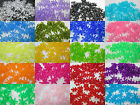 50 - 18mm Tranlucent Starflake / Paddlewheel Beads Color Choice