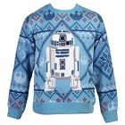 Star Wars Cozy R2-D2 Men's Ugly Christmas Sweater $38.95 USD