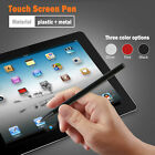 2 in 1 Touch Screen Pen Stylus For iPhone iPad Samsung Tablet Phone PC